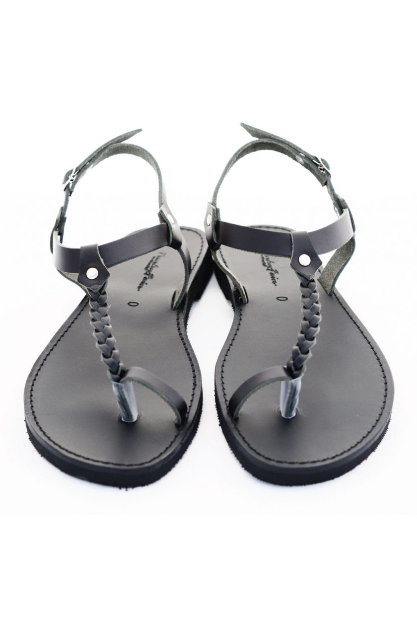 Greckie sandały FUNKY LOOKS, czarne